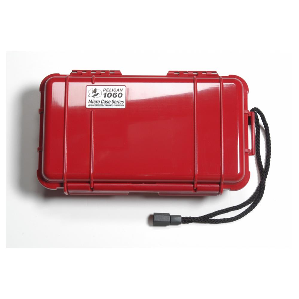 PELICAN 1060 MICRO CASE, RED