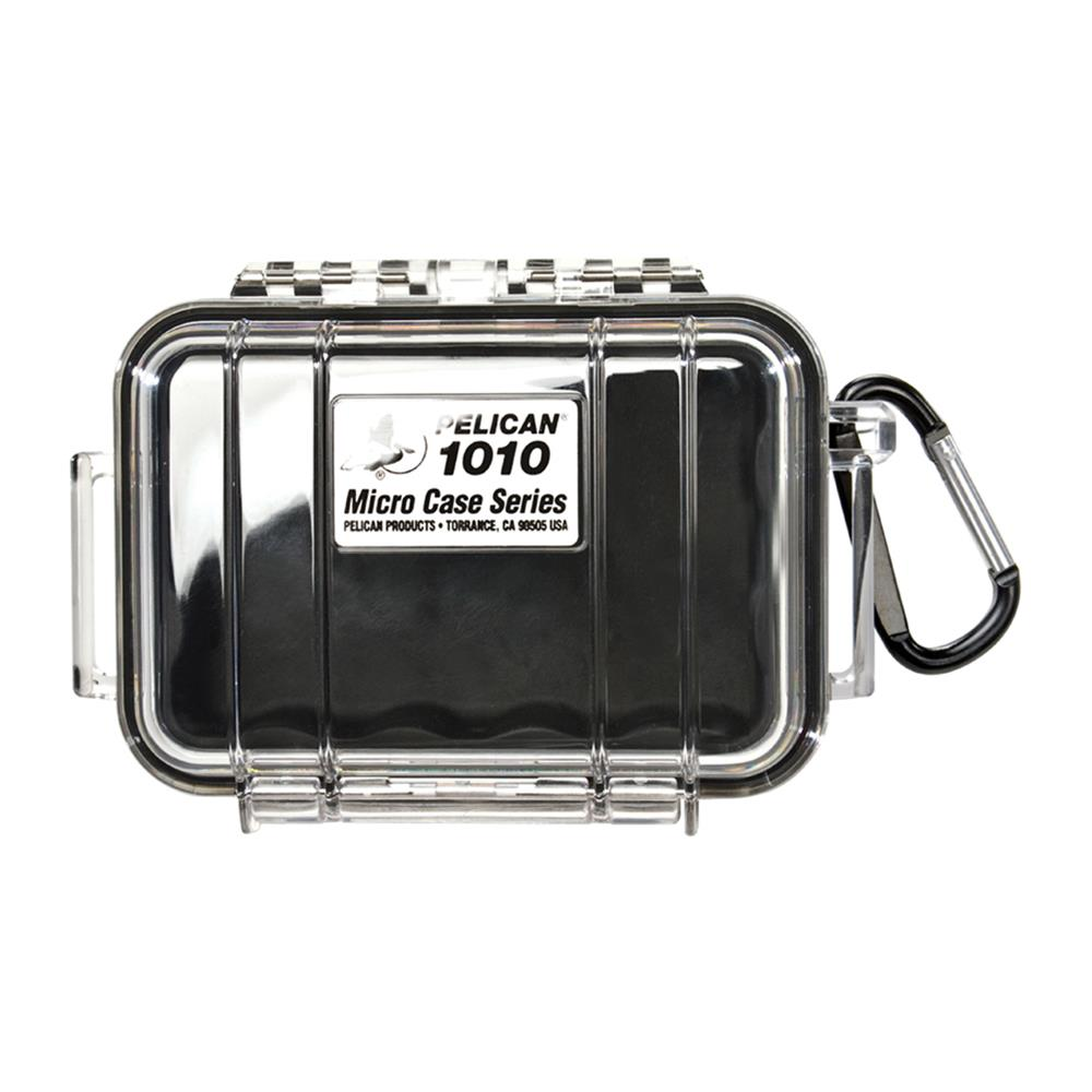 PELICAN CLEAR 1010 MICRO CASE, BLACK