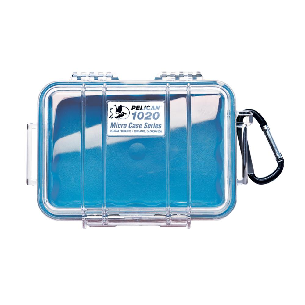 PELICAN CLEAR 1020 MICRO CASE, BLUE