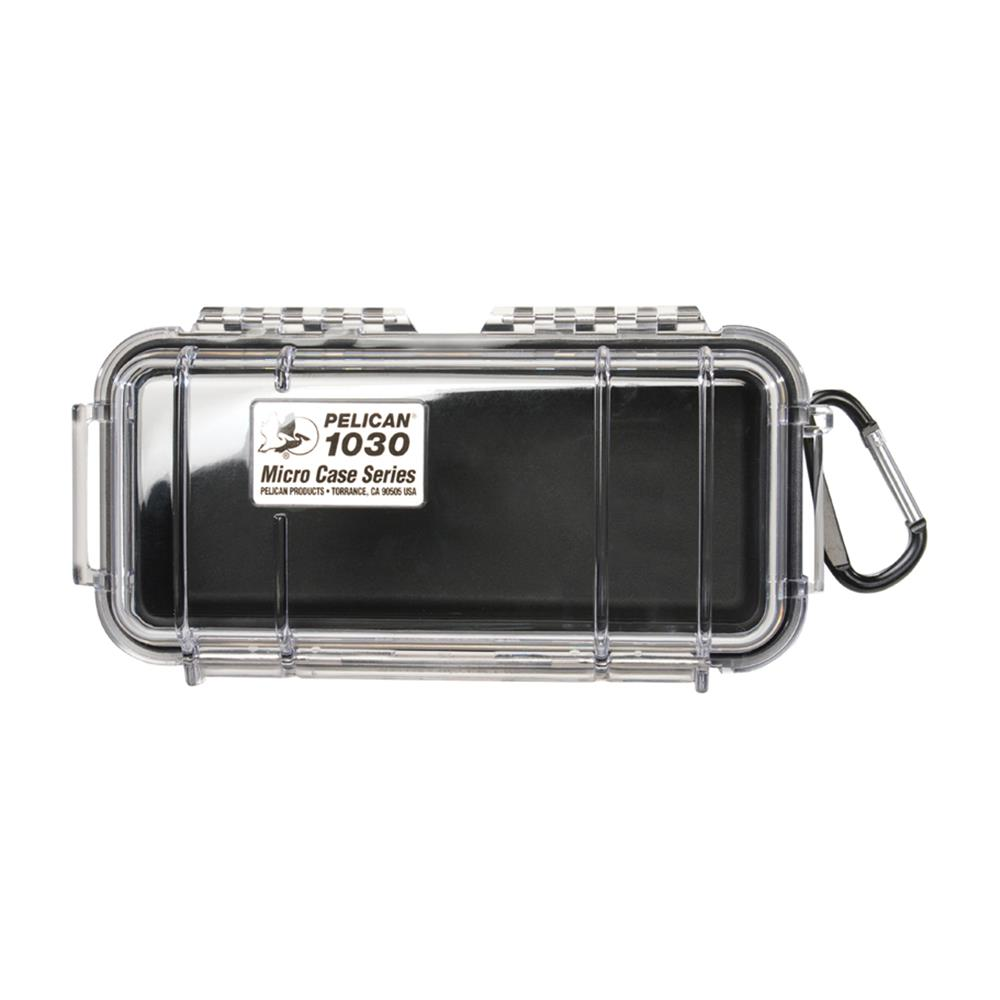 PELICAN CLEAR 1030 MICRO CASE, BLACK