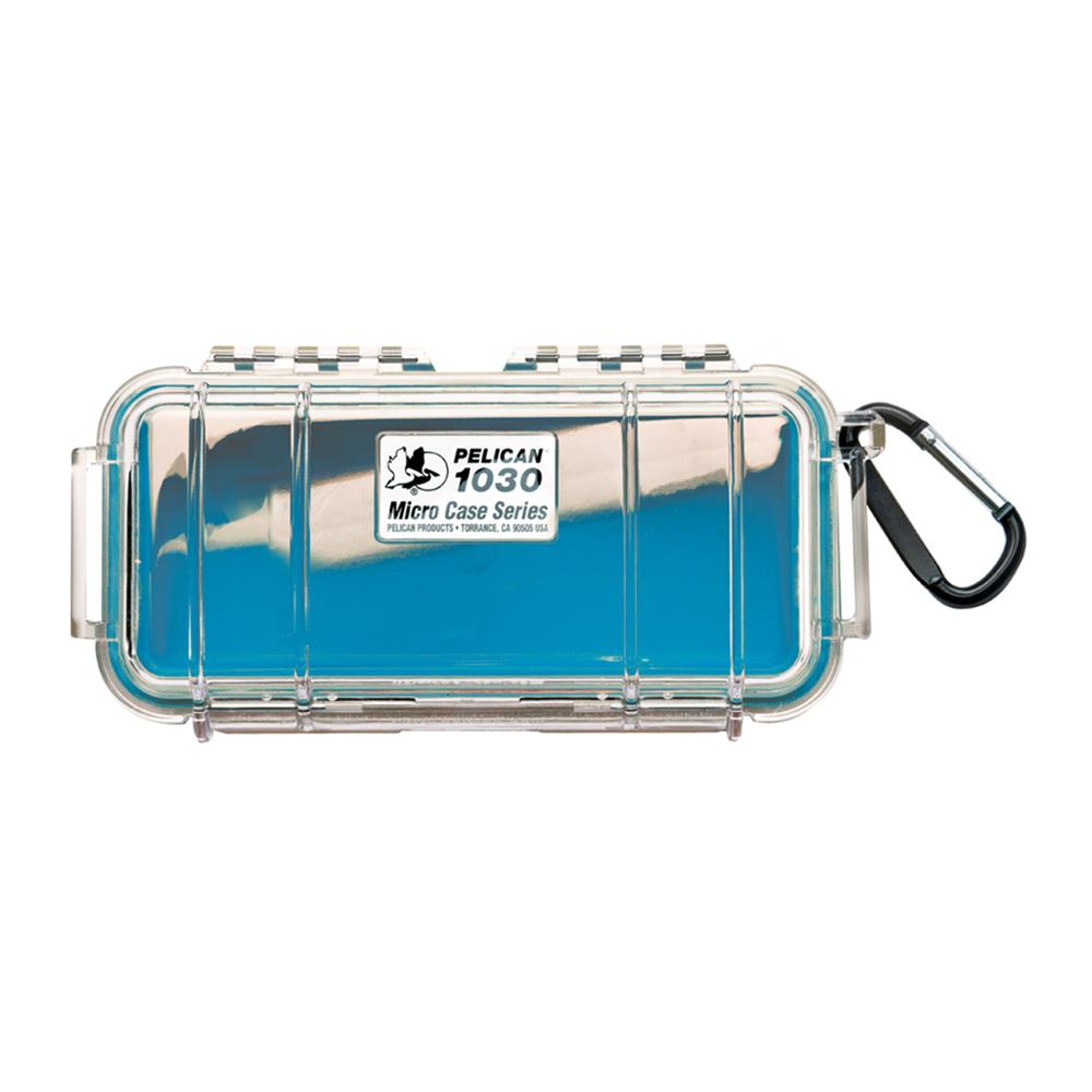 PELICAN CLEAR 1030 MICRO CASE, BLUE