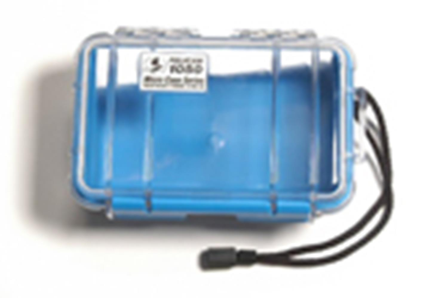 PELICAN CLEAR 1050 MICRO CASE, BLUE