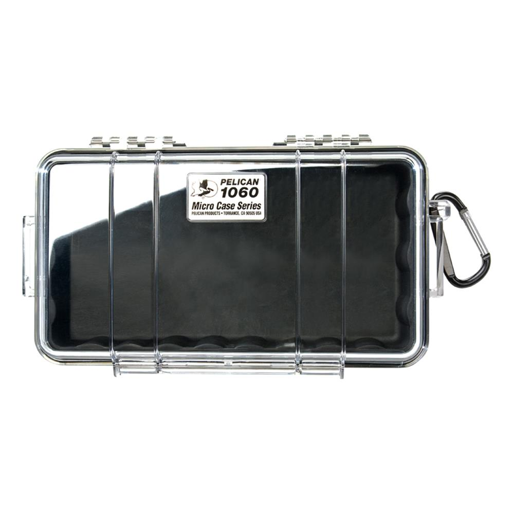 PELICAN CLEAR 1060 MICRO CASE, BLACK