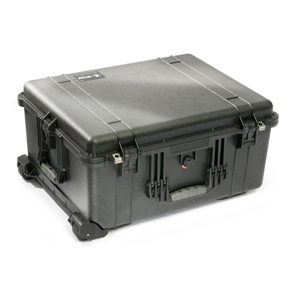 PELICAN 1610 CASE, BLACK W/DIVIDERS
