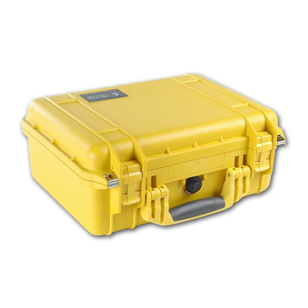 PELICAN 1450 CASE W/DIVIDERS YELLOW
