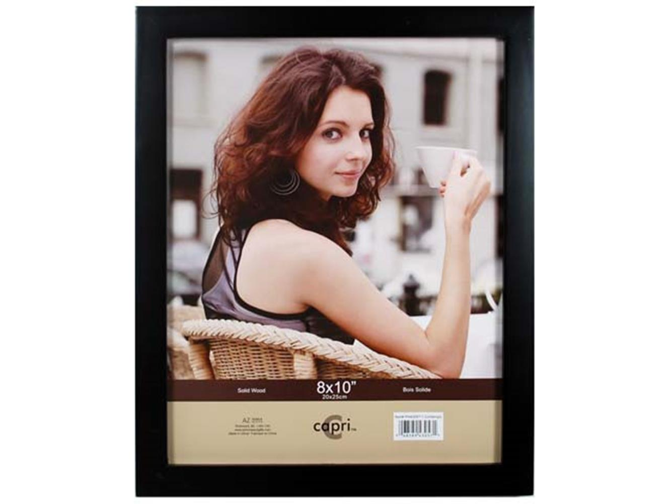 "CONTEMPO 8X10"" SOLID WOOD FRAME BLACK"