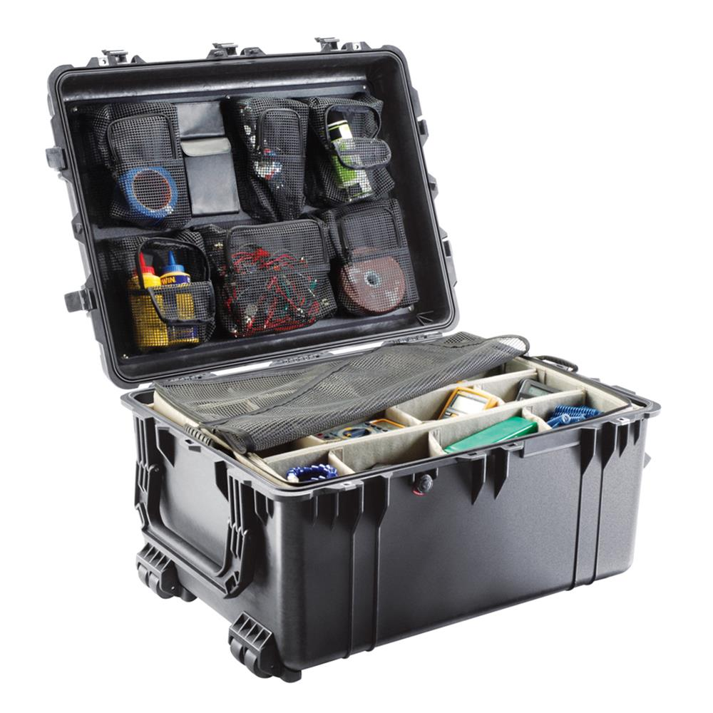 PELICAN CASE 1630 BLACK WITH FOAM