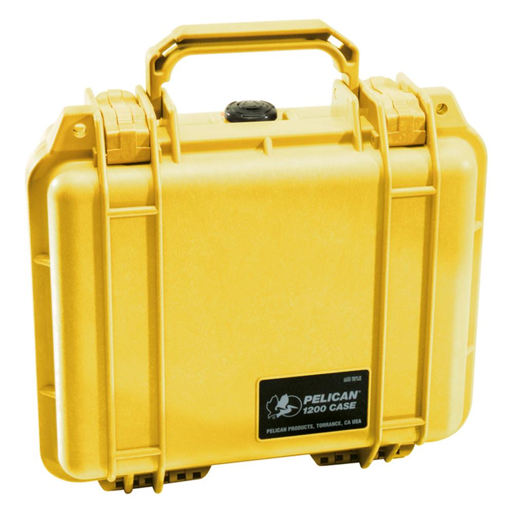 PELICAN 1200 YELLOW WITH FOAM