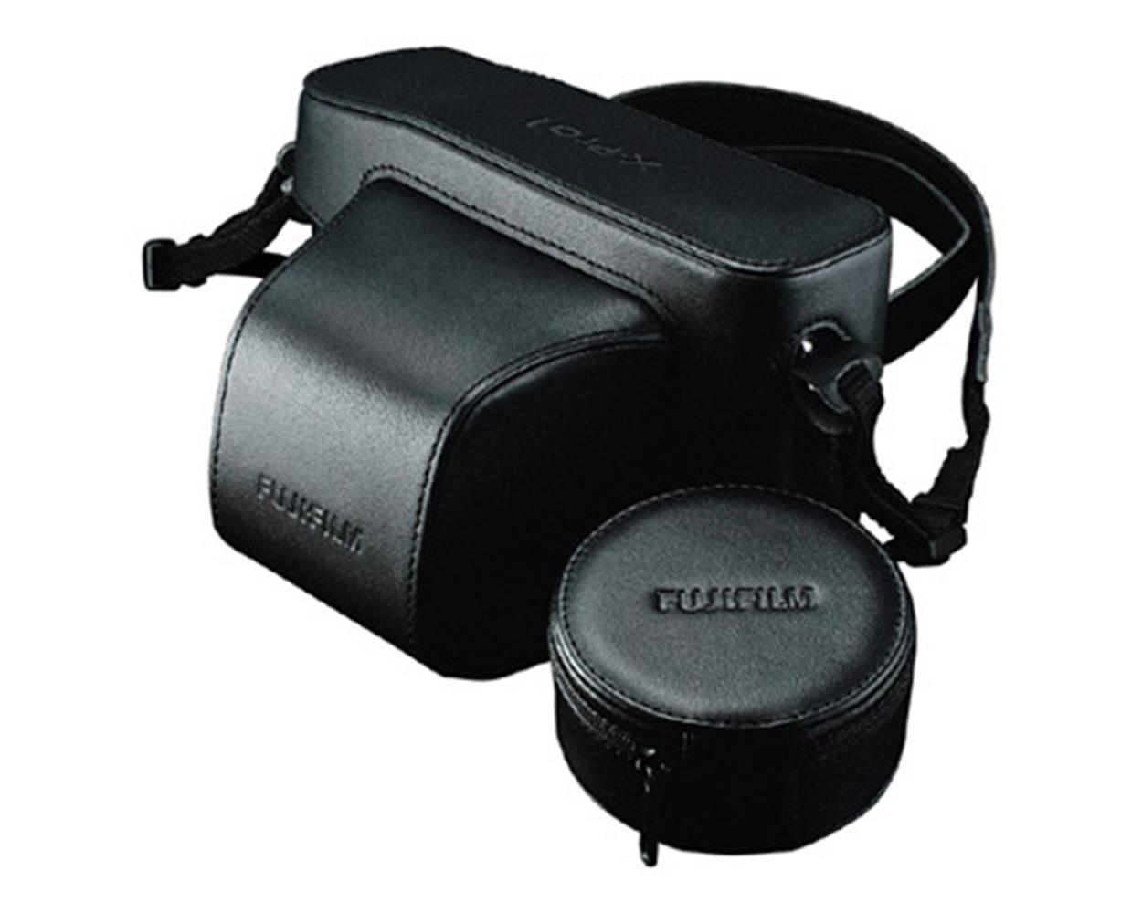 FUJI X-PRO-1 FITTED LEATHER CASE