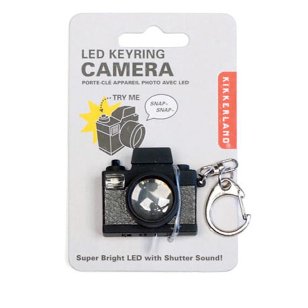 LED KEYCHAIN-CAMERA CARDED
