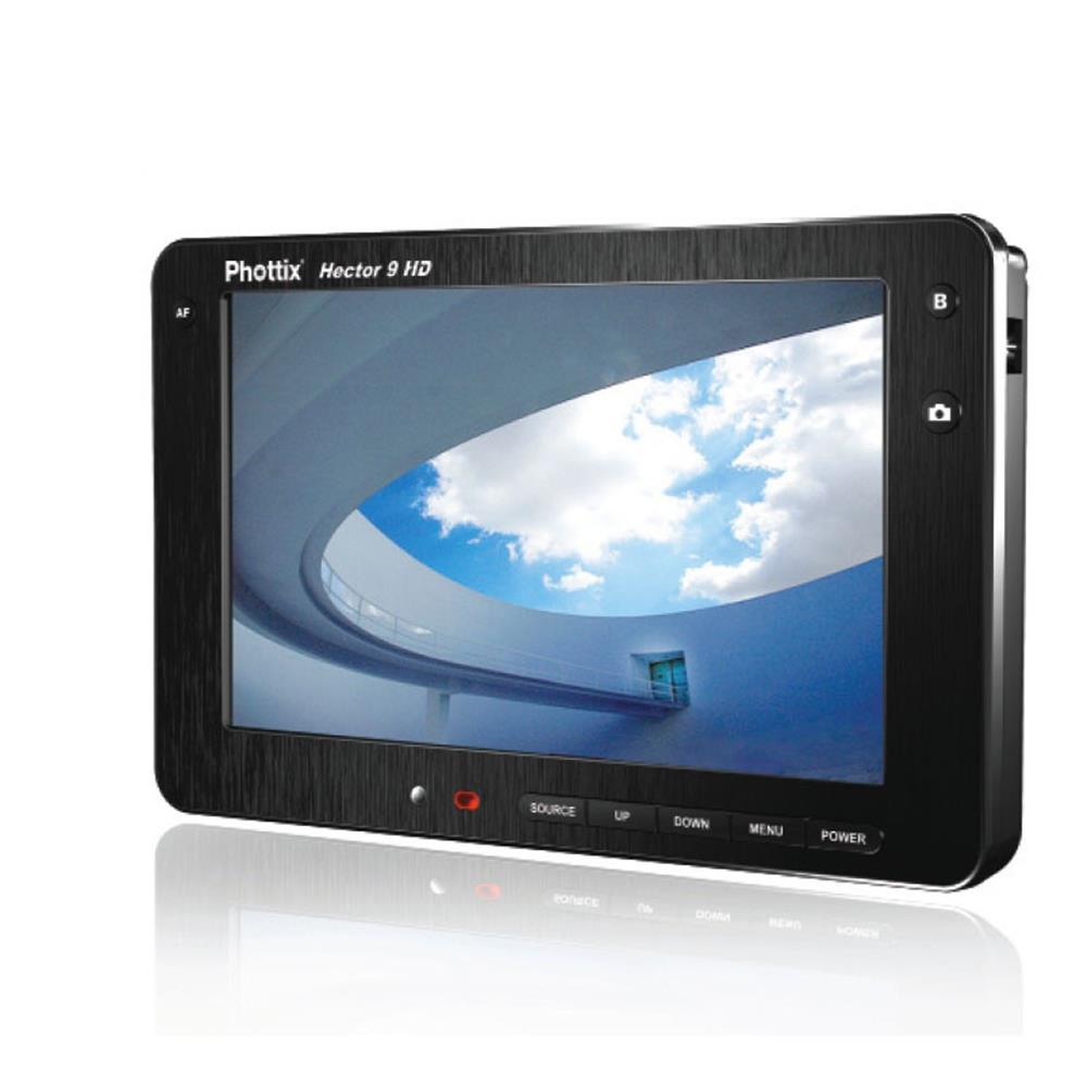 "PHOTTIX HECTOR 9"" HIGH DEFINITION LIVE VIEW LCD"
