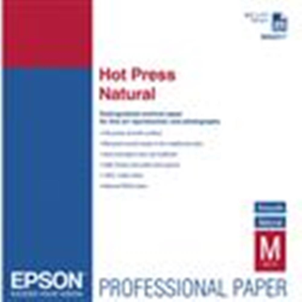 "EPSON HOT PRESS NATURAL 17""X50' ROLL"