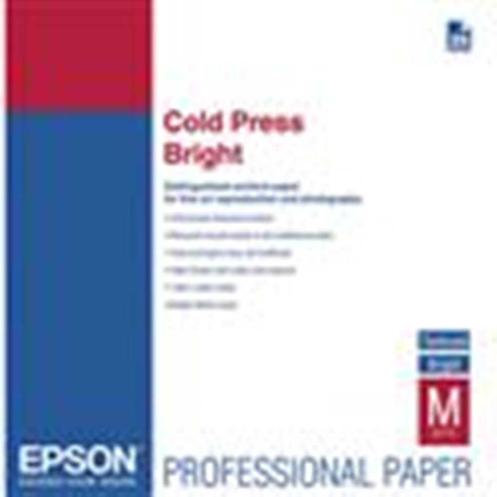 "EPSON COLD PRESS BRIGHT 17""X50' ROLL"