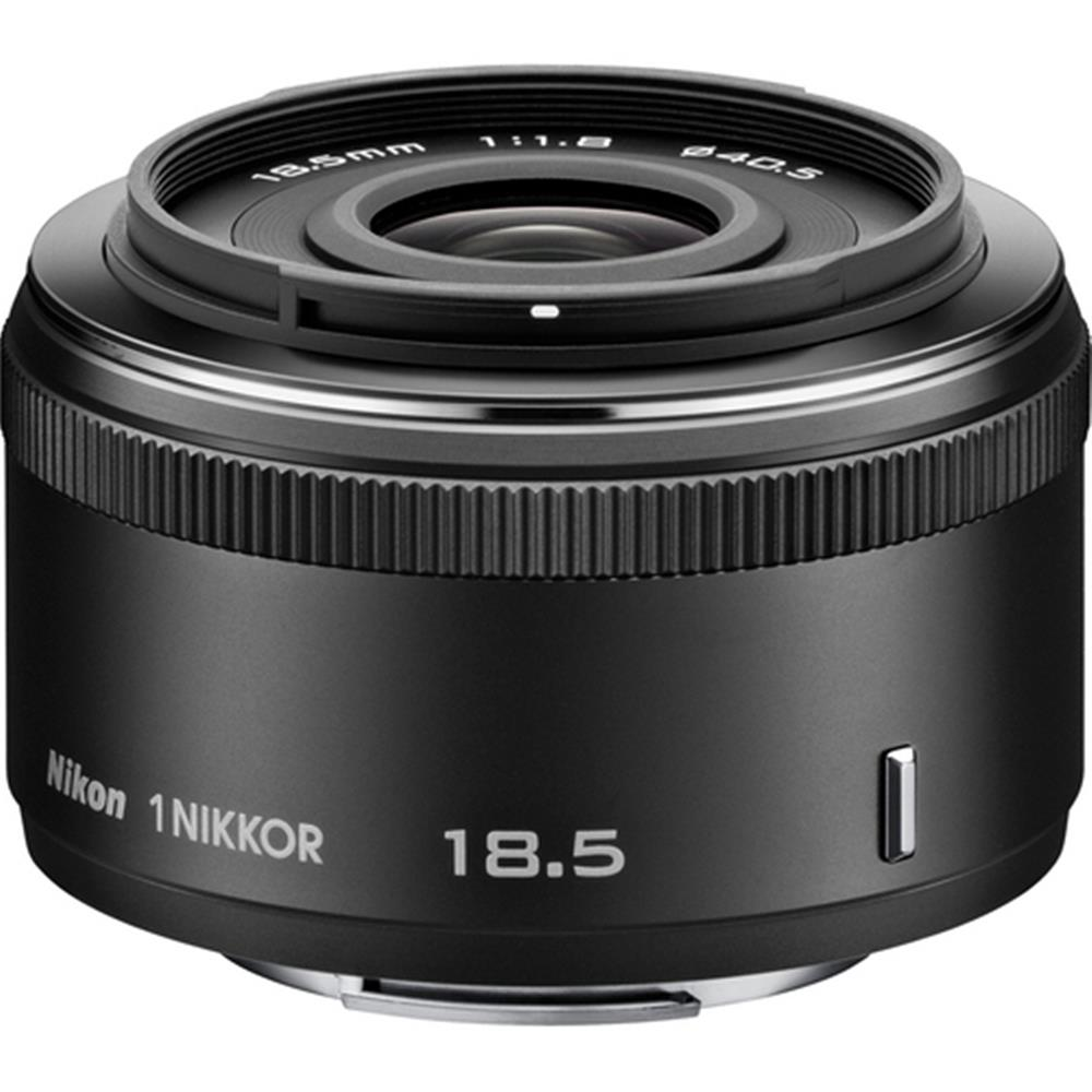 NIKON 1 NIKKOR 18.5MM F1.8 LENS BLACK