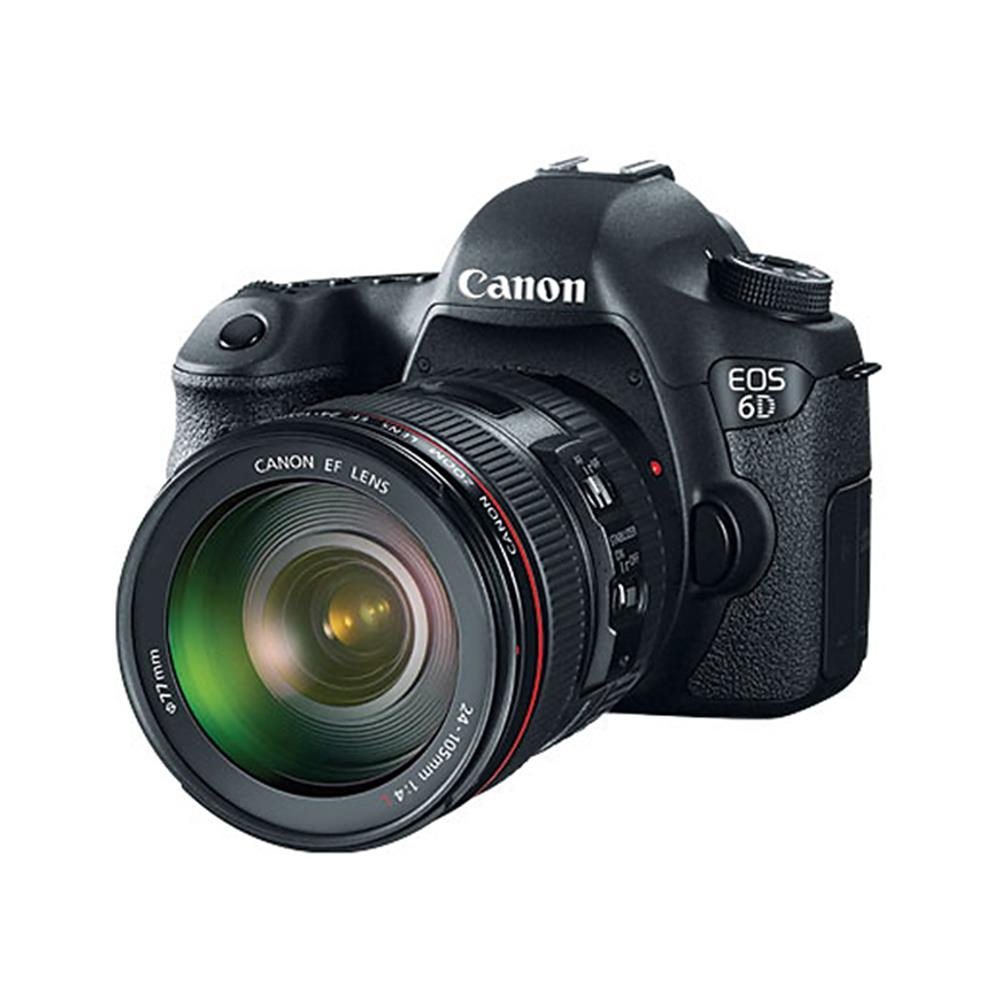 CANON EOS 6D D-W/EF 24-105 F4L IS LENS