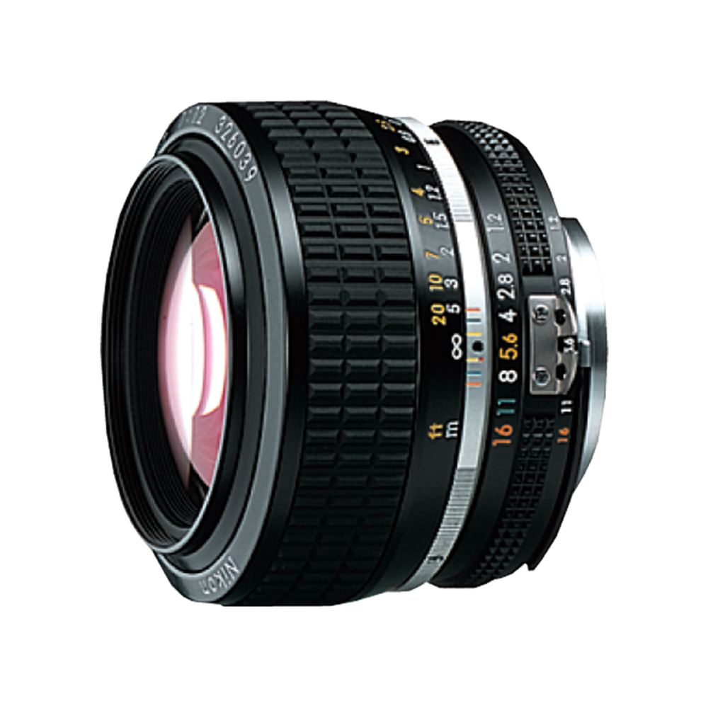 NIKON AIS 50MM F1.2 LENS MF