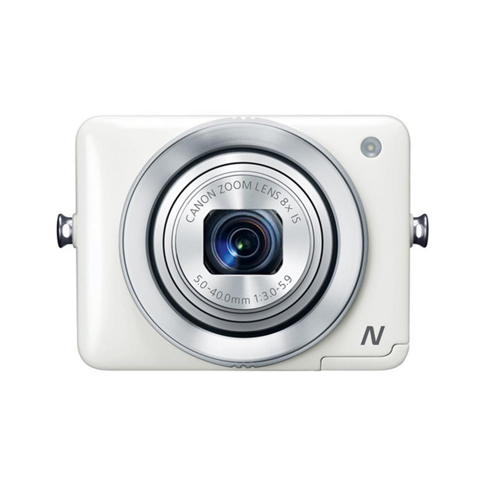 CANON POWERSHOT N 12.1MP CMOS WHITE 8X 2.8