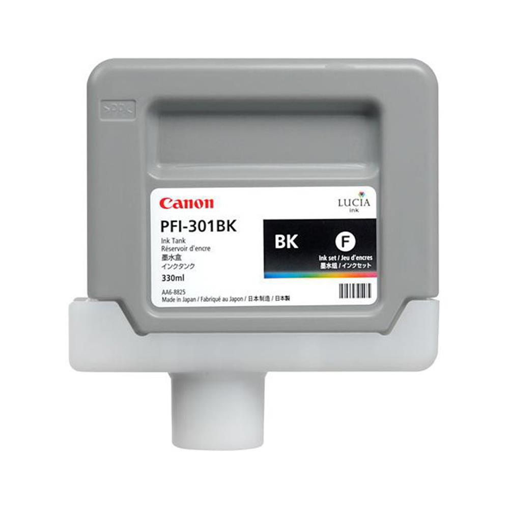 CANON BLACK INK 330ML PFI-301BK