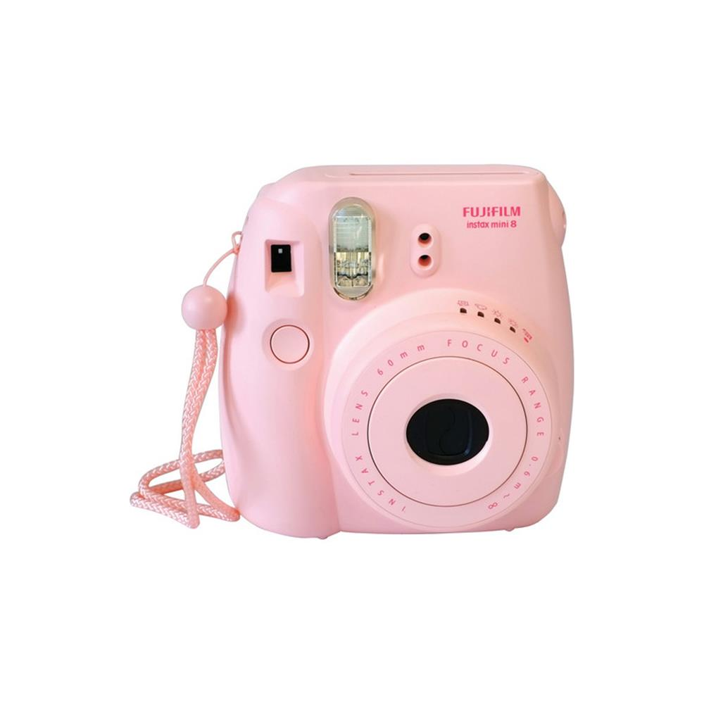 FUJI INSTAX MINI 8 PINK CAMERA/FILM KIT