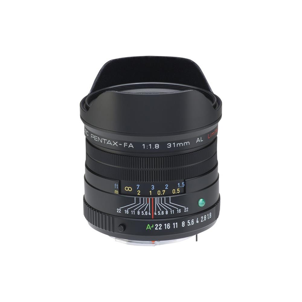PENTAX SMCP-FA 31MM 1.8 LIMITED (BLACK)