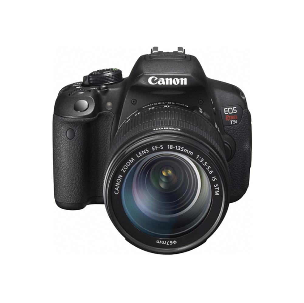 CANON EOS REBEL T5I W/18-135MM STM LENS