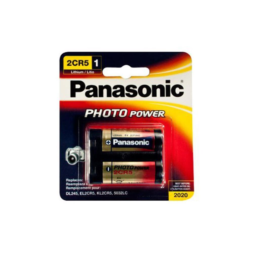 PANASONIC 2CR5-1 6 VOLT LITHIUM BATTERY