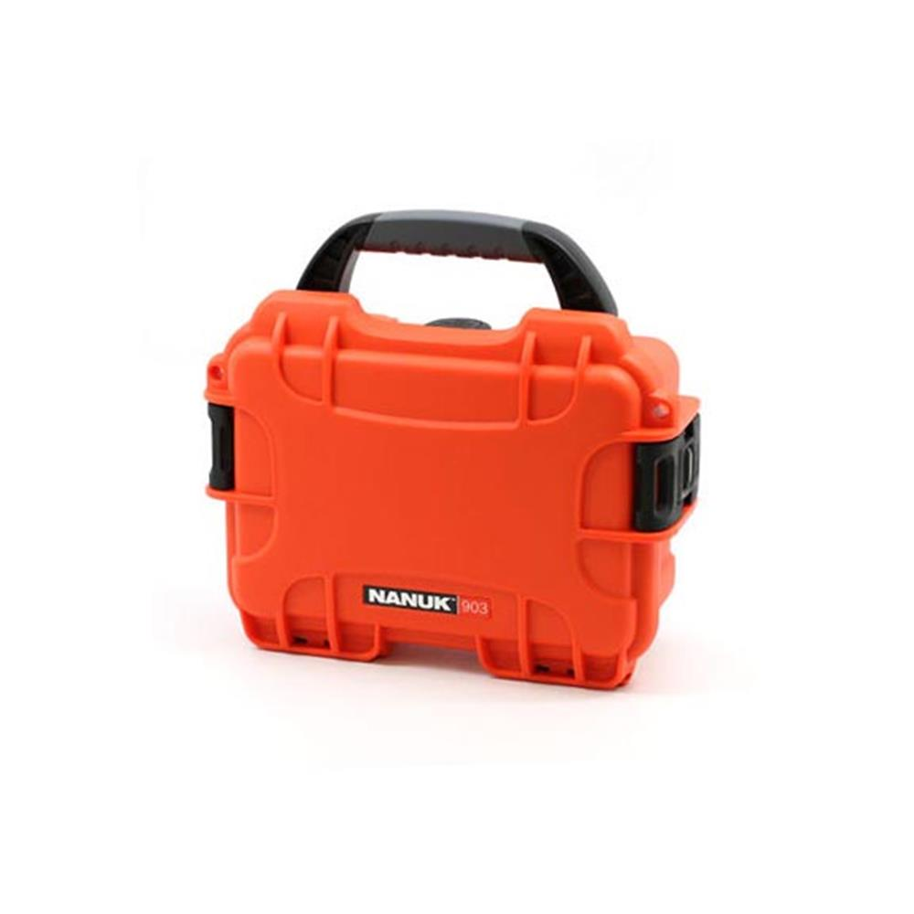NANUK 903-1003 W/FOAM ORANGE CASE