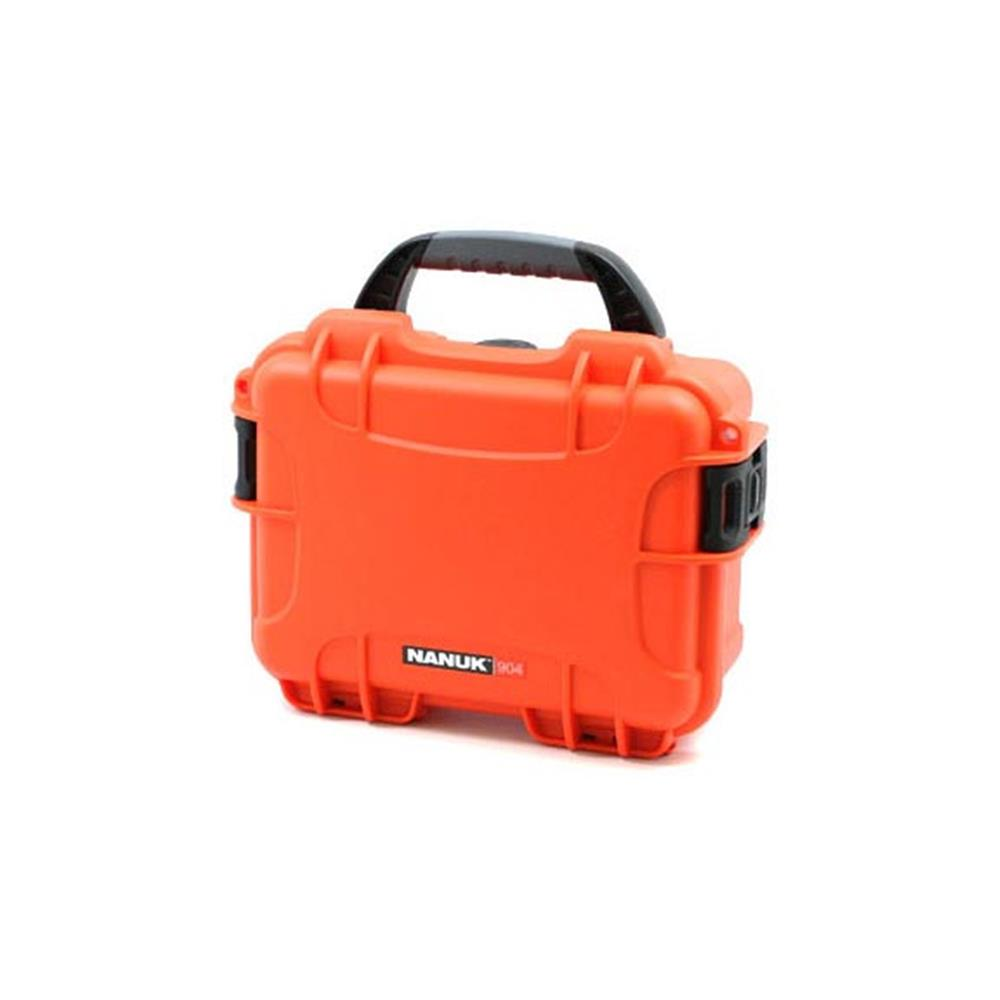 NANUK 904-1003 W/FOAM ORANGE CASE