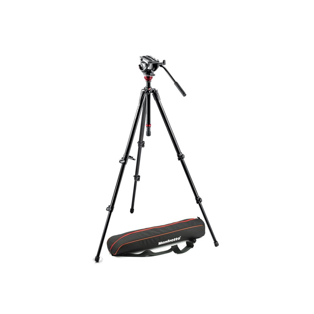 MANFROTTO 755XB W/500AH HEAD AND BAG