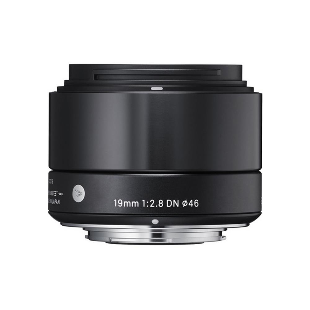 SIGMA 19MM F2.8 DN LENS (NEX) BLACK (ART)