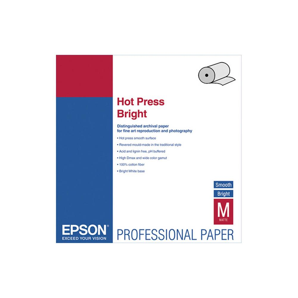 "EPSON HOT PRESS BRIGHT 17""X50' ROLL"
