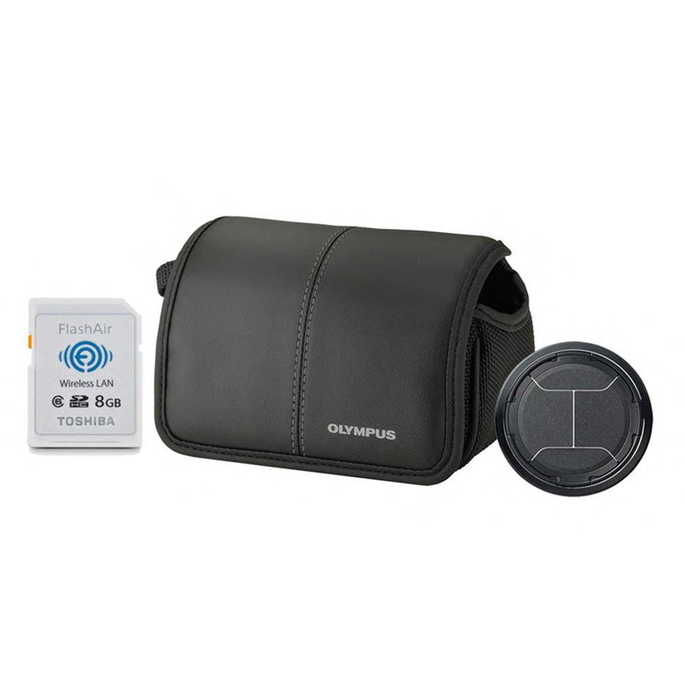 OLYMPUS XZ-2 ACCESSORY KIT (CASE,CAP,8GB CARD)