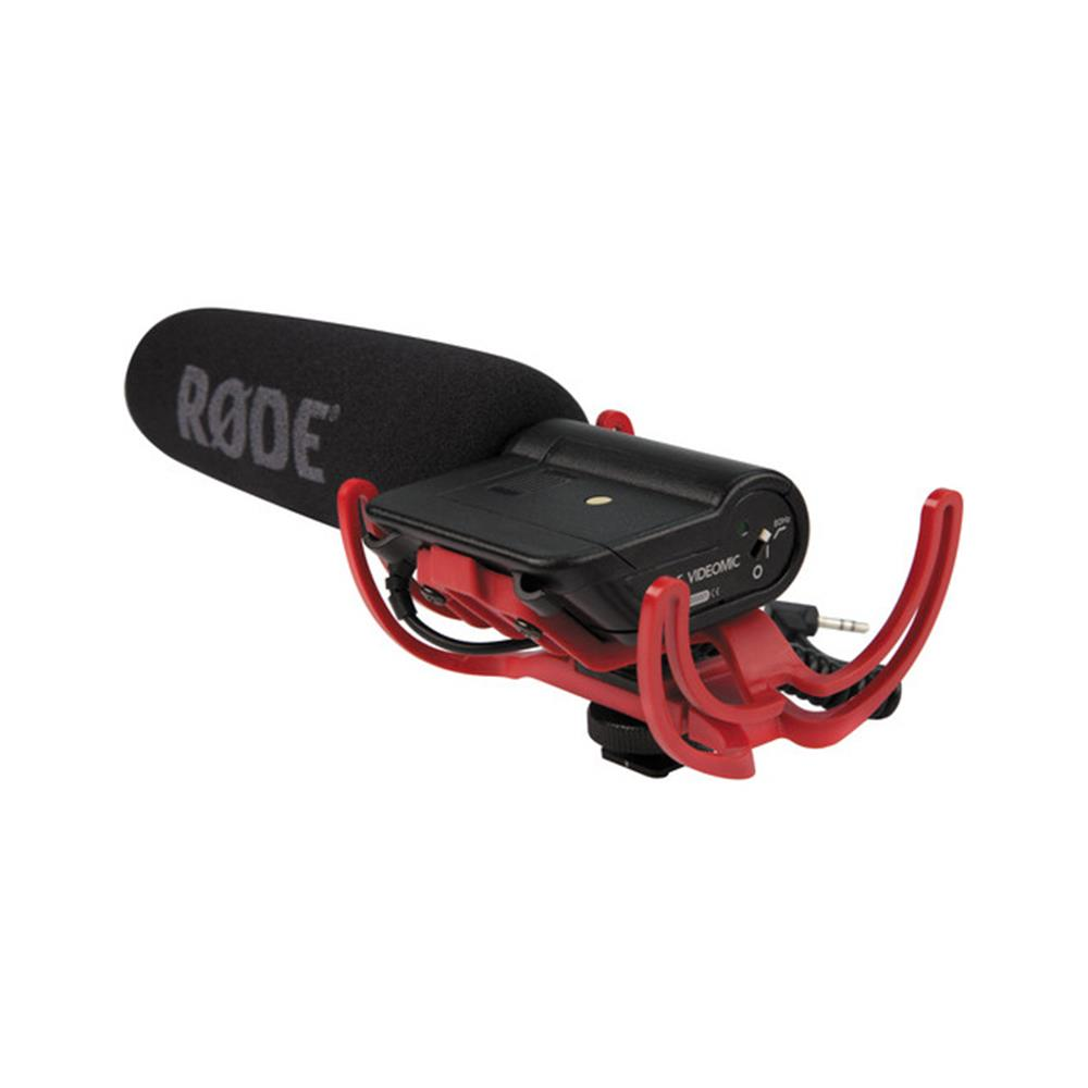 RODE VIDEOMIC W/RYCOTE SUSPENSION
