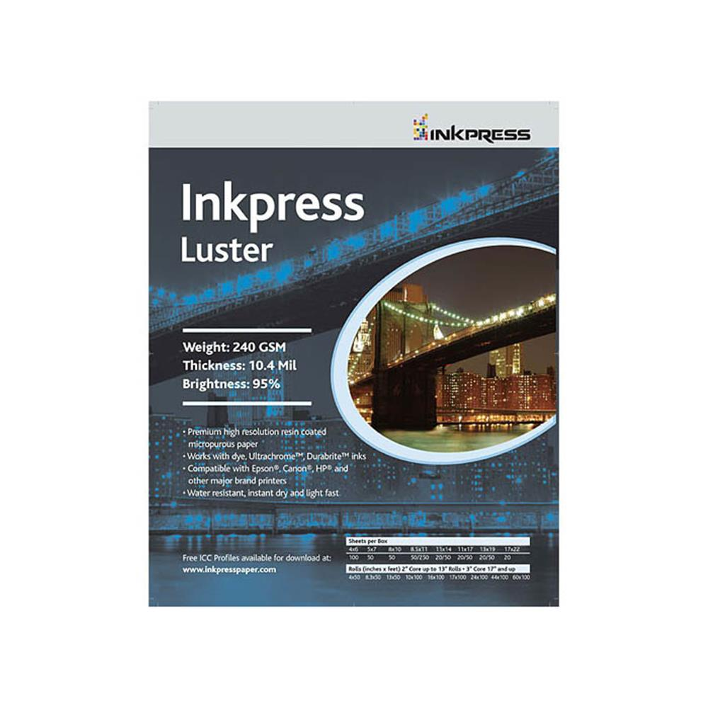 "INKPRESS LUSTER 8.3""X50' ROLL"