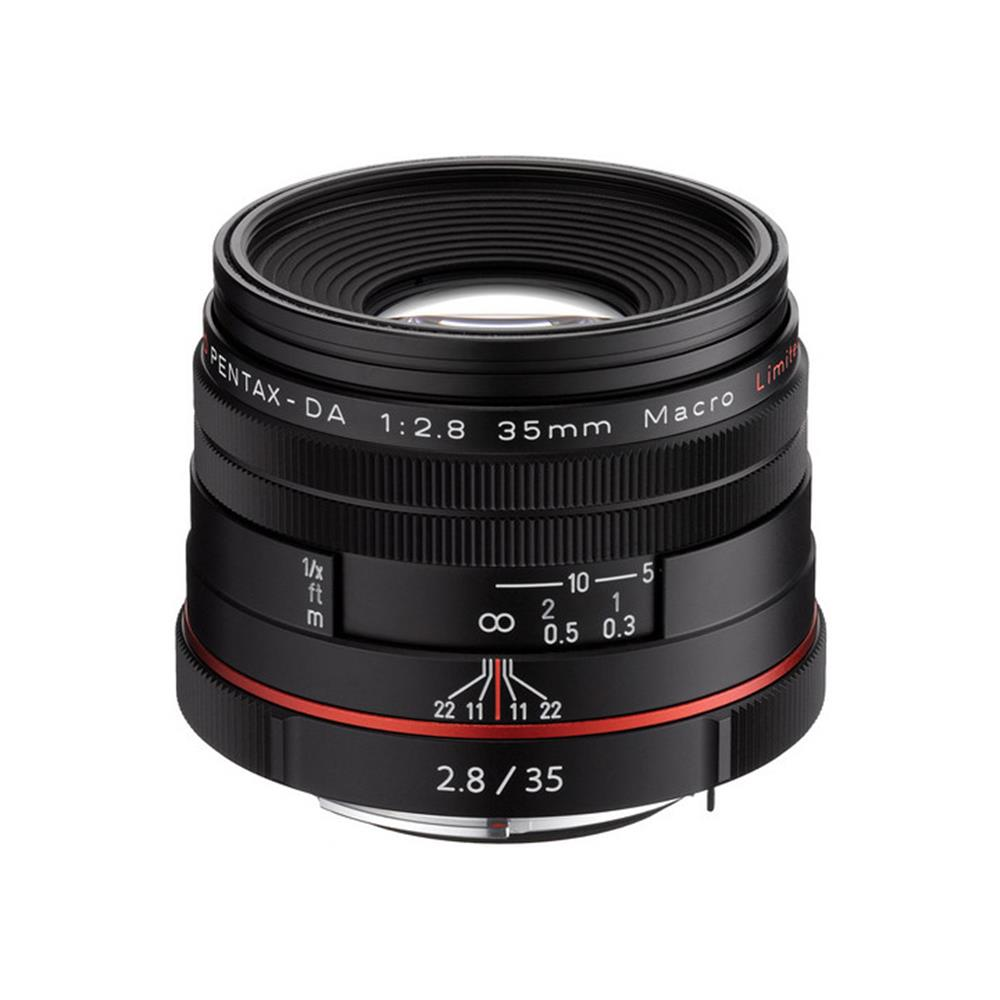 PENTAX HIGH DEFINITION DA 35MM F2.8 MACRO LIMITED BLACK