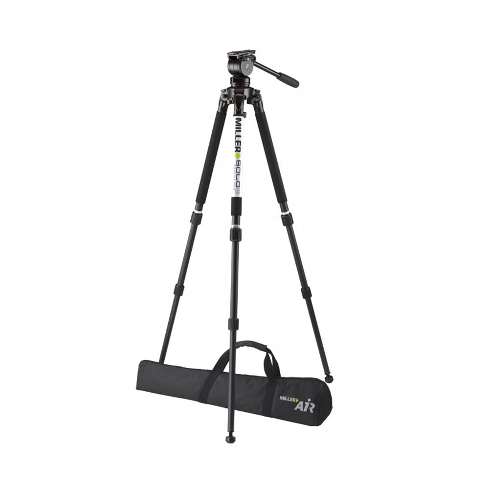 MILLER AIR SOLO 2 STAGE ALLOY TRIPOD 3001