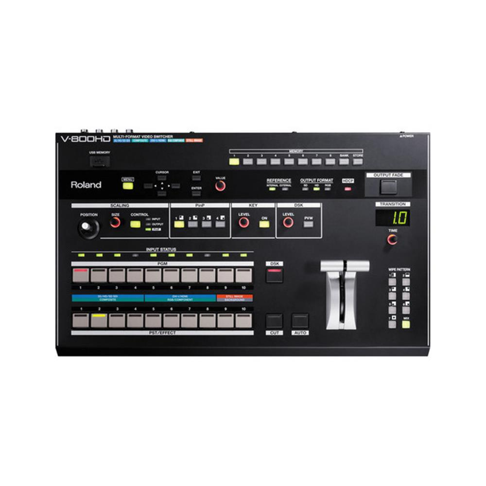 ROLAND V-800HD LIVE VIDEO SWITCHER