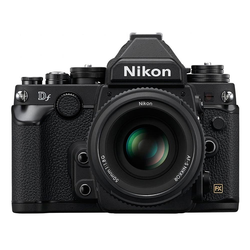 NIKON DF DSLR W/50MM F1.8 BLACK