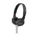 SONY ZX STEREO HEADPHONES BLACK