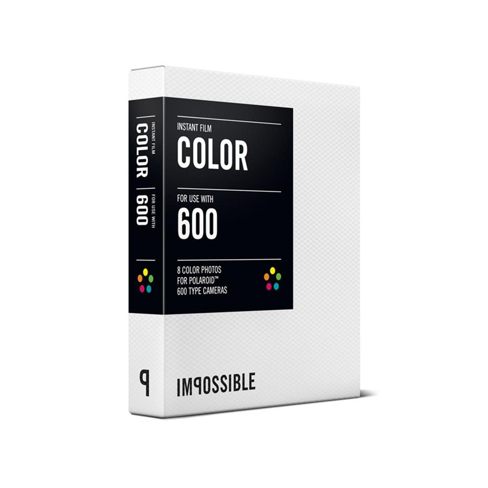 IMPOSSIBLE COLOR FILM FOR 6OO TYPE CAMER