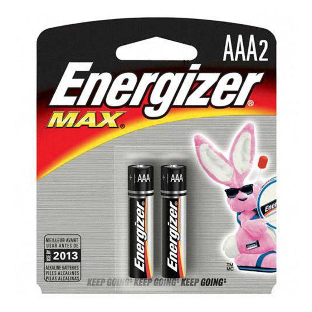 ENERGIZER MAX AAA BATTERY 2PK
