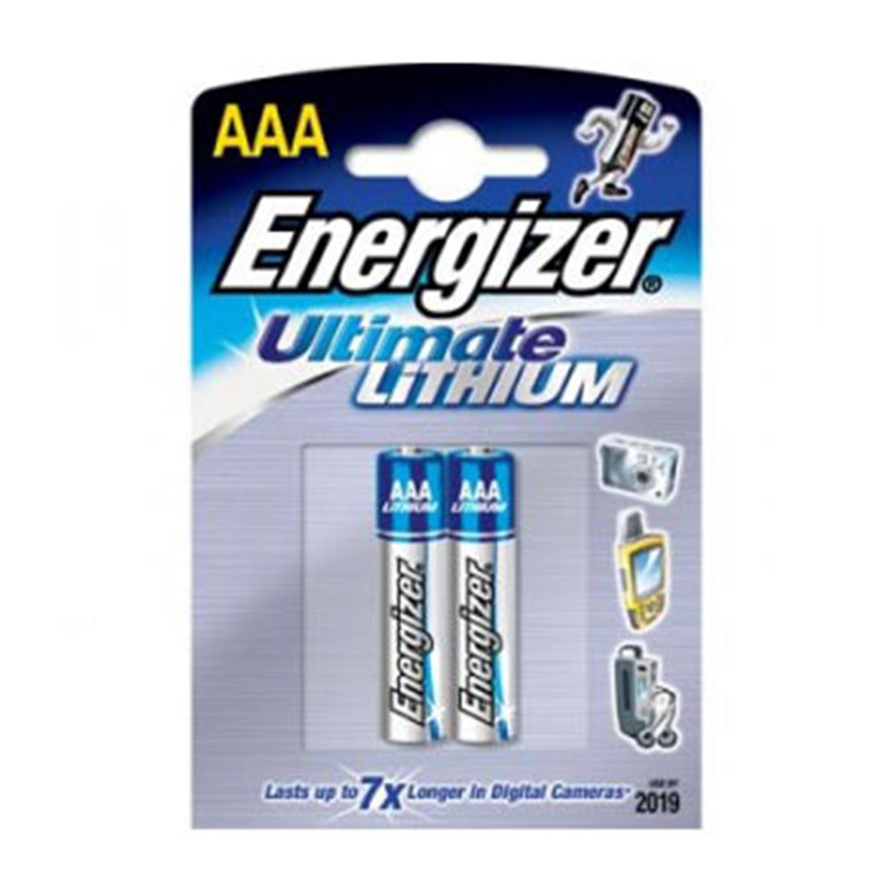 ENERGIZER ULTIMATE AAA LITH. BATTERY 2PK