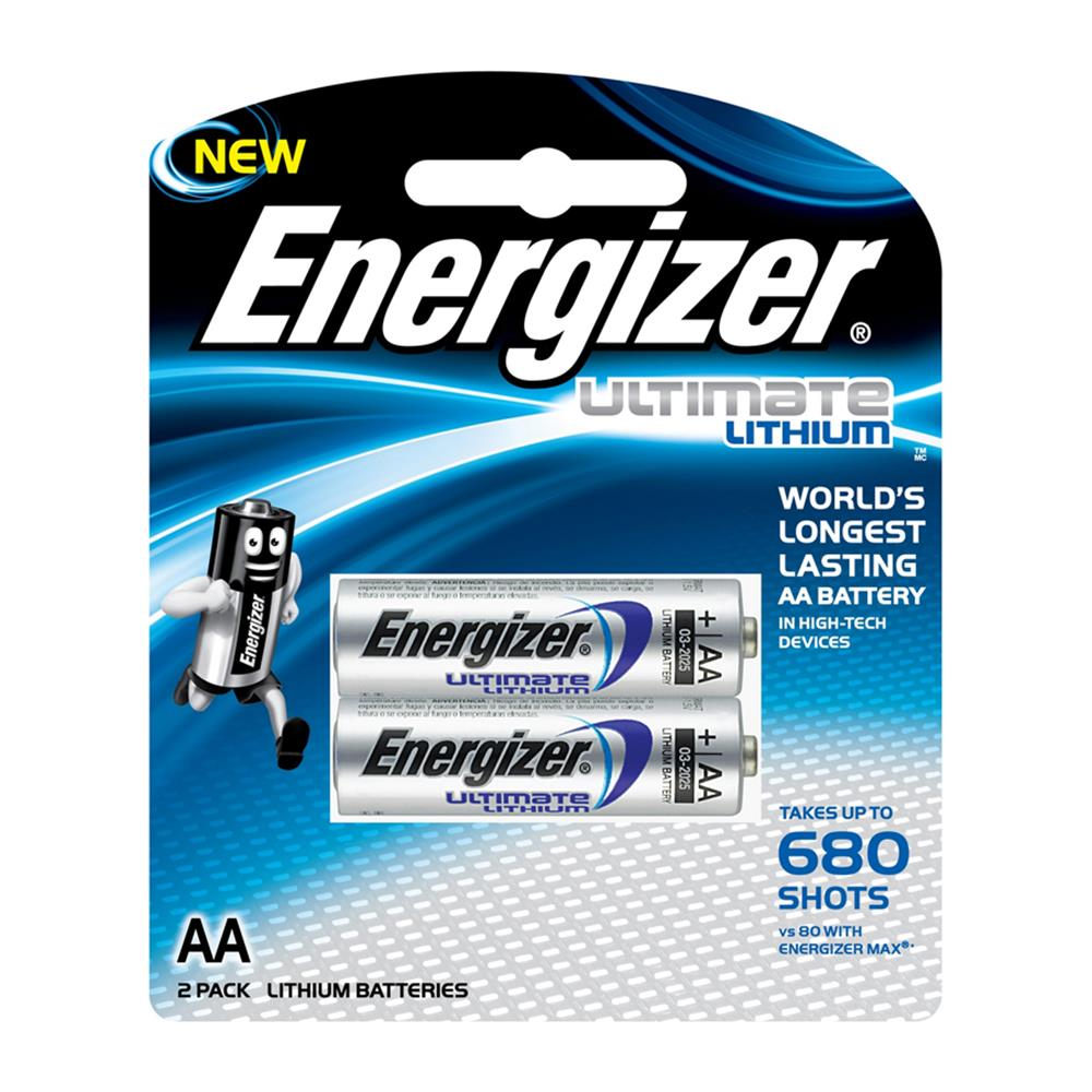 ENERGIZER ULTIMATE AA LITH. BATTERY 2PK