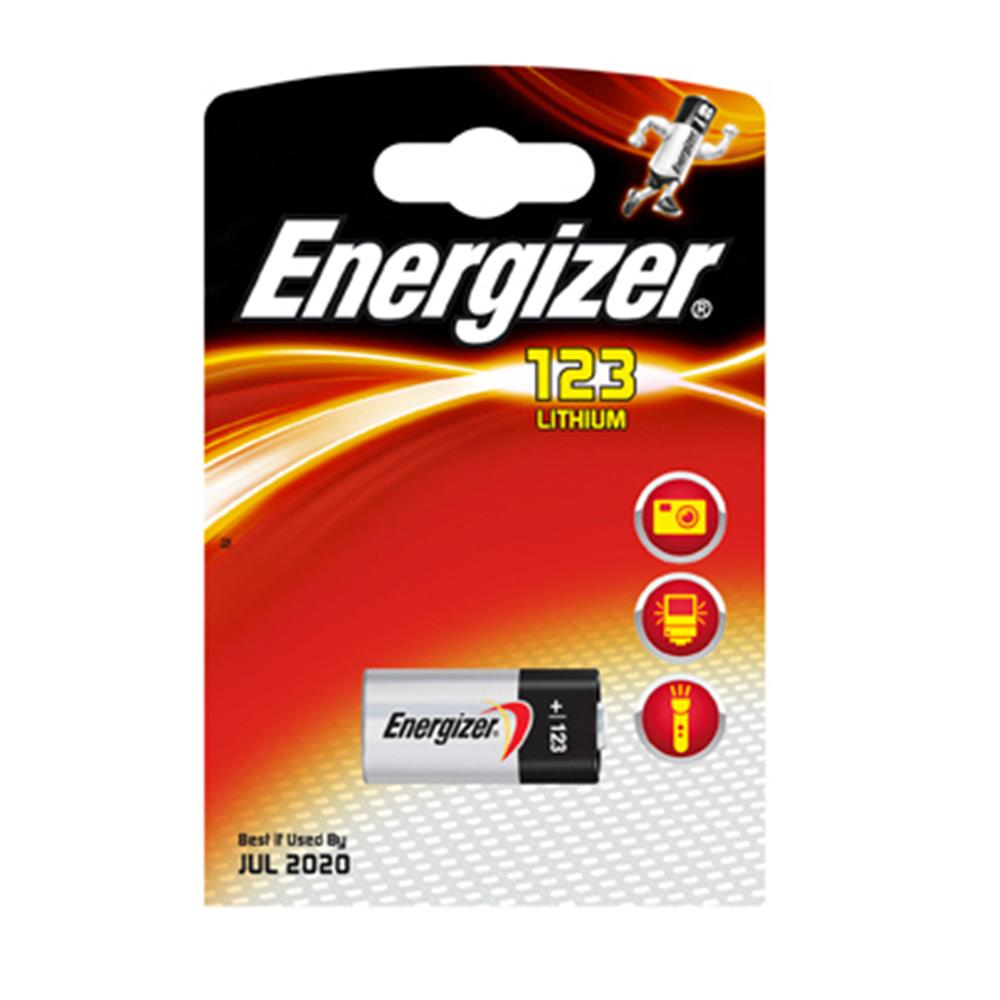 ENERGIZER CR 123 BATTERY