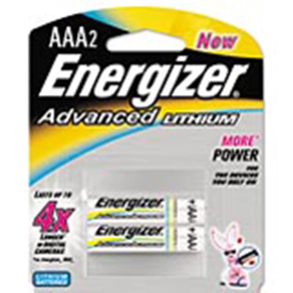 ENERGIZER ADVANCED AAA/2 LITH BATTERIES