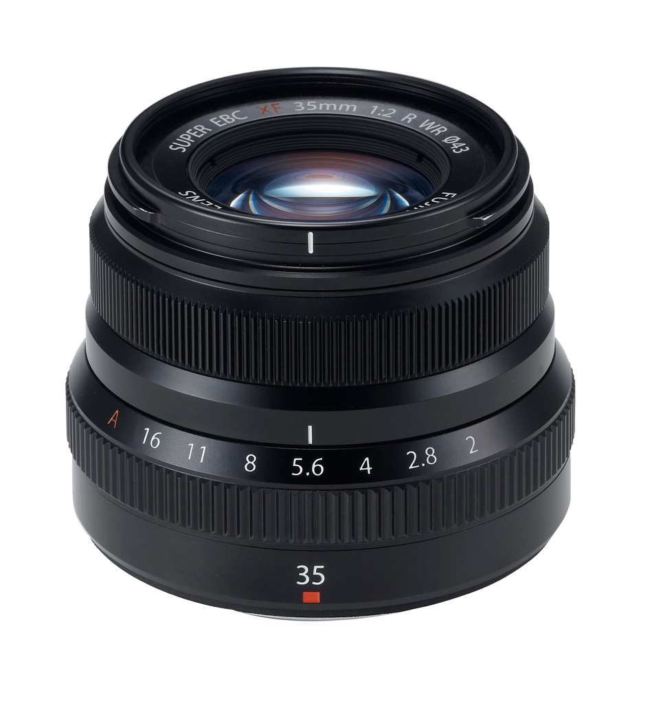 FUJINON XF 35mm F2 WR Lens