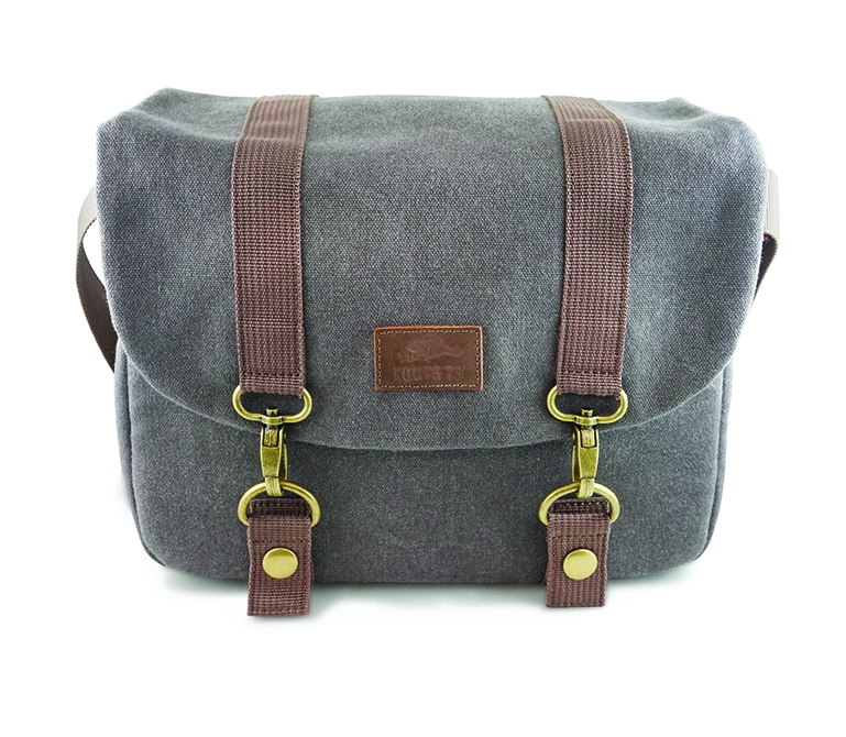 Roots 73 Flannel Collection Messenger Bag