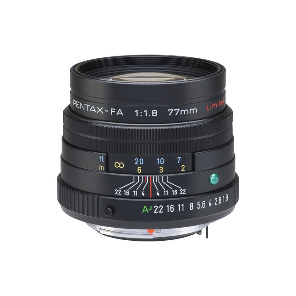 PENTAX SMCP-FA 77MM 1.8 LIMITED (BLACK)