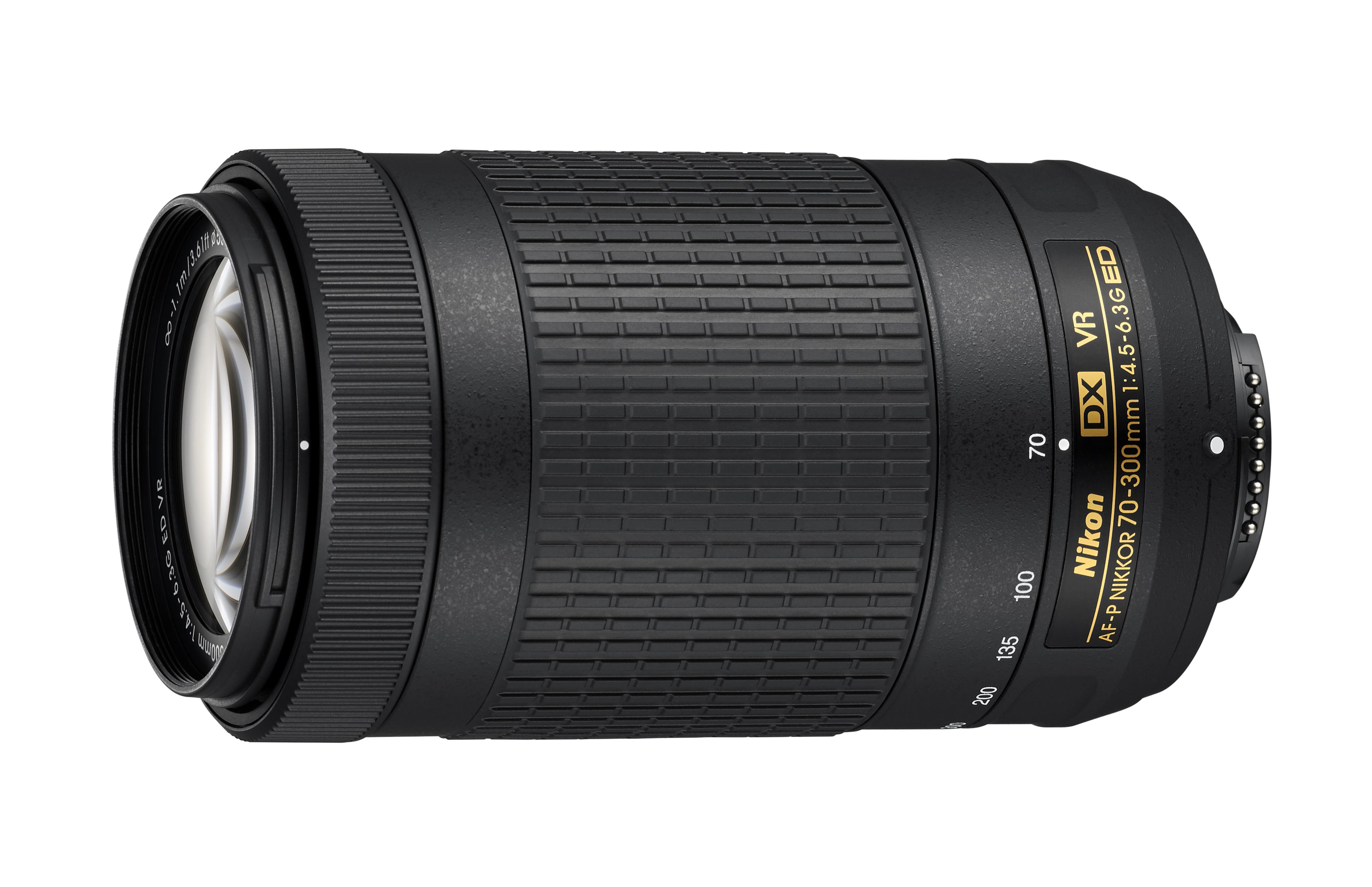 Nikon AF-P DX 70-300mm f/4.5-6.3 G ED VR Lens