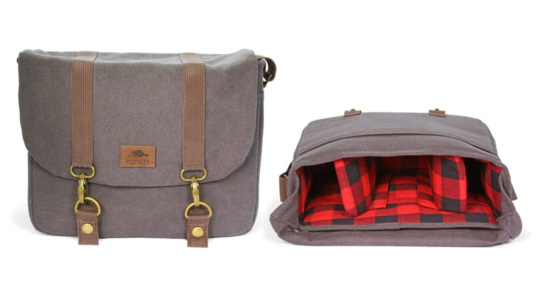 dd024899be5d Henrys.com   ROOTS 73 FLANNEL COLLECTION L MESSENGER
